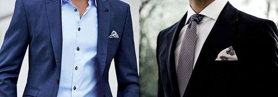 acessórios masculinos no terno
