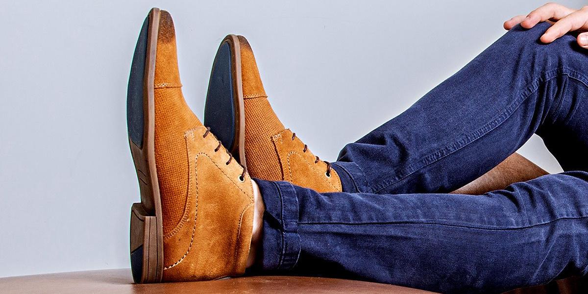 maneiras de usar a bota masculina