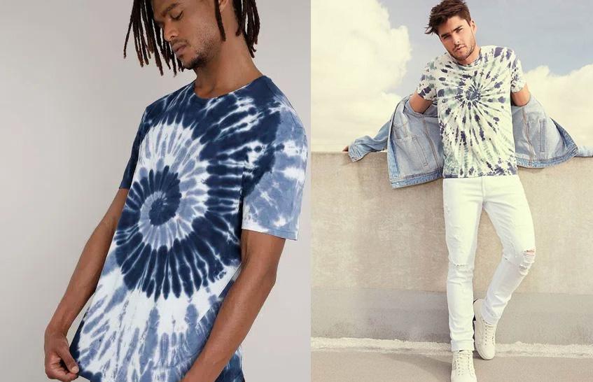 Moda masculina 2021: Tie Dye volta com tudo