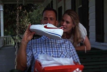Os tênis Nike de Tom Hanks em Forrest Gump — O Contador de Histórias