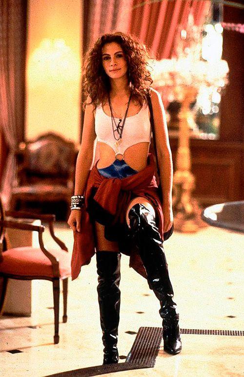 Botas over the knee de Vivian Ward em Pretty Woman