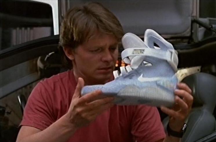 O Nike Air Mag de Marty McFly de De volta para o futuro 2