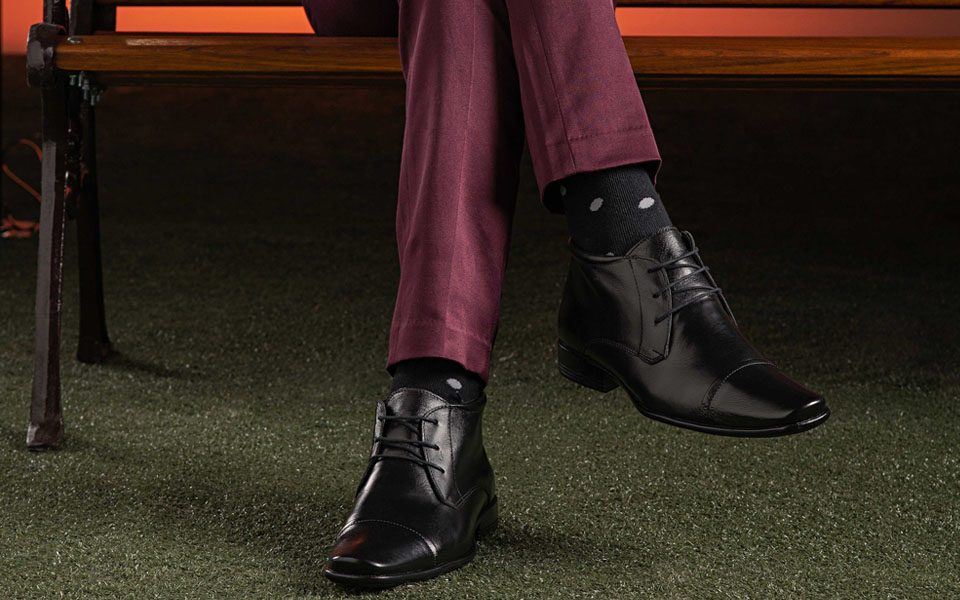 look masculino com bota