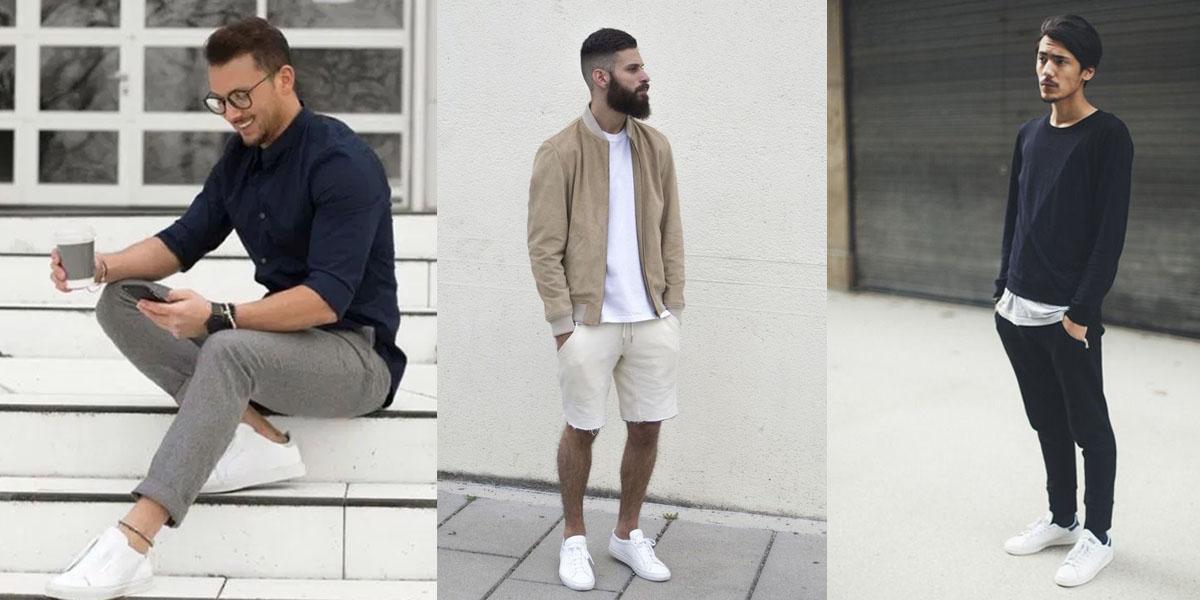 look minimalista masculino