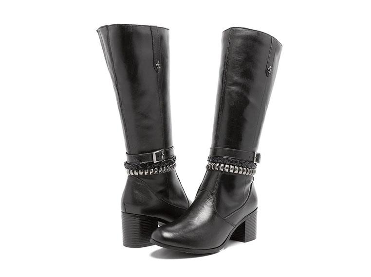 calçados femininos atemporais: botas montarias