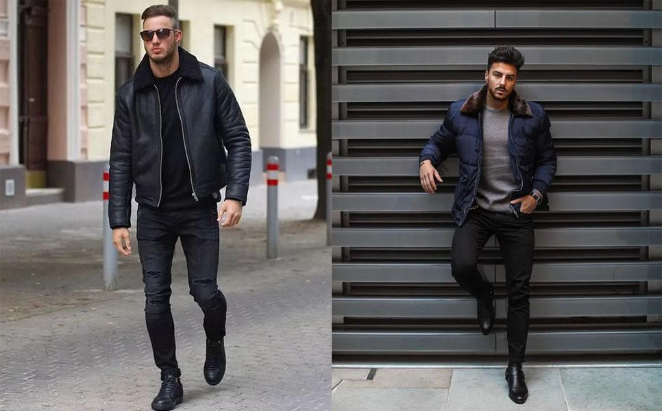 look masculino para o inverno